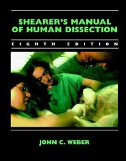 Book Shearer's Manual of Human Dissection by John Weber