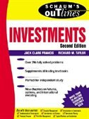 Book Schaum's Outline of Investments by Jack Francis