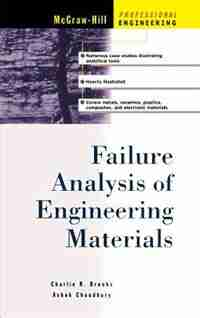 Failure Analysis of Engineering Materials by Charles R. Brooks