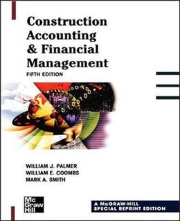 Book Construction Accounting & Financial Management by William Palmer