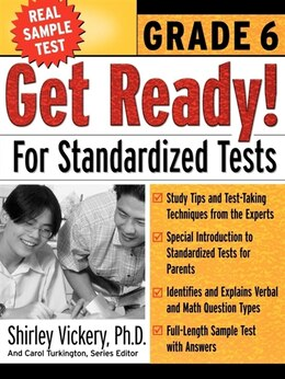 Book Get Ready! For Standardized Tests by Shirley Vickery