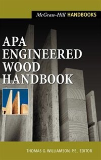 Book APA Engineered Wood Handbook by Thomas Williamson