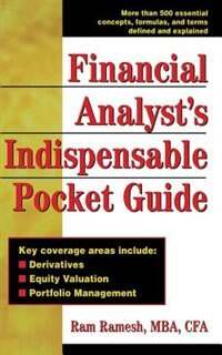Book Financial Analyst's Indispensible Pocket Guide by Ram Ramesh
