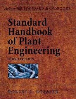 Book Standard Handbook of Plant Engineering by Robert Rosaler