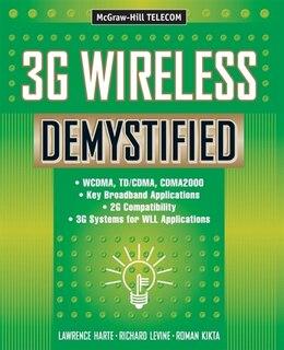 Book 3G Wireless Demystified by Lawrence Harte