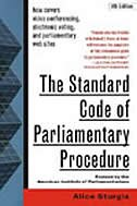 Book The Standard Code of Parliamentary Procedure, 4th Edition by Alice Sturgis