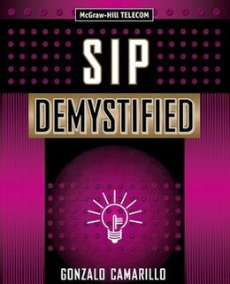 Book SIP Demystified by Gonzalo Camarillo