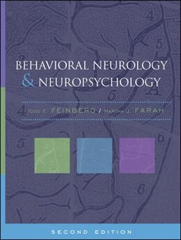 Book Behavioral Neurology and Neuropsychology, Second Edition by Todd Feinberg