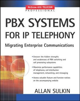Book PBX Systems for IP Telephony by Allan Sulkin