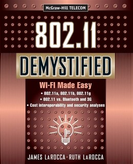 Book 802.11 Demystified by James LaRocca