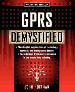 GPRS Demystified by John Hoffman