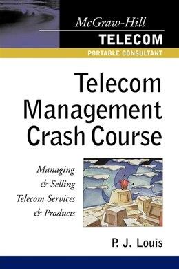 Book Telecom Management Crash Course by P. J. Louis