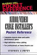 Book Audio/Video Cable Installer's Pocket Guide by Stephen Lampen