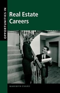 Book Opportunities in Real Estate Careers by Mariwyn Evans