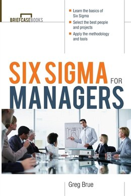 Book Six Sigma For Managers by Greg Brue