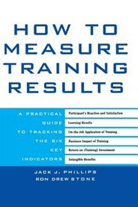 Book How To Measure Training Results: A Practical Guide to Tracking the Six Key Indicators by Jack Phillips
