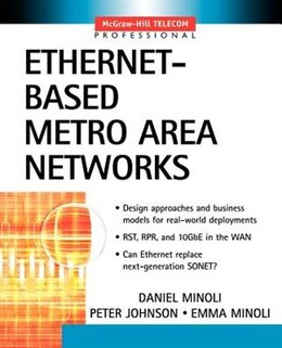 Book Ethernet-Based Metro Area Networks by Daniel Minoli