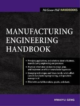 Book Manufacturing Engineering Handbook by Hwaiyu Geng