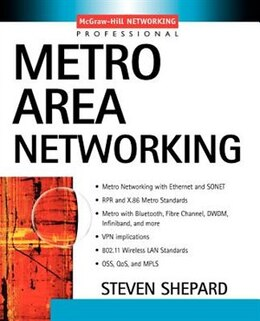 Book Metro Area Networking by Shepard