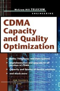 Book CDMA Capacity and Quality Optimization by Adam Rosenberg