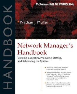 Book Network Manager's Handbook by Muller