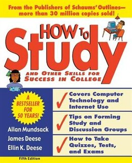 Book How to Study 5/e by Allan Mundsack