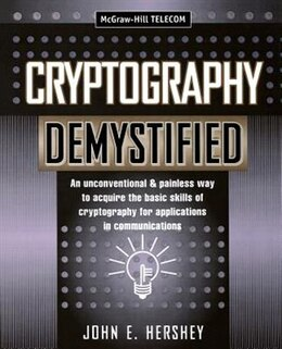 Book Cryptography Demystified by John Hershey