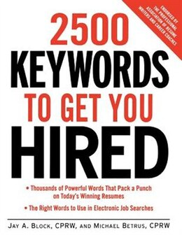 Book 2500 Keywords to Get You Hired by Jay A. Block