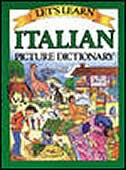 Book Let's Learn Italian Picture Dictionary by Marlene Goodman