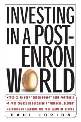Book Investing In A Post-enron World by Paul Jorion