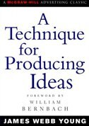 Book A Technique For Producing Ideas by James Young