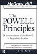 Book The Powell Principles: 24 Lessons from Colin Powell, a Lengendary Leader by Oren Harari