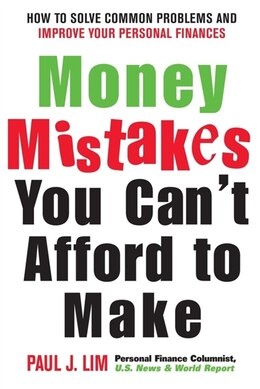 Book Money Mistakes You Can't Afford to Make by Paul Lim