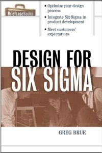 Book Design For Six Sigma by Greg Brue