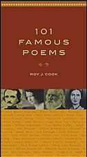 Book 101 Famous Poems by Roy Cook