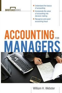 Book Accounting for Managers by William Webster