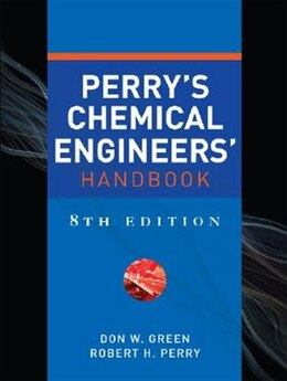 Book Perry's Chemical Engineers' Handbook, Eighth Edition by Don Green