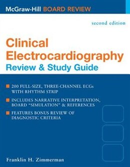 Book Clinical Electrocardiography: Review & Study Guide, Second Edition: Review & Study Guide by Franklin Zimmerman