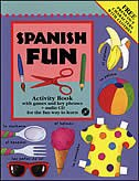 Book Spanish Fun (Book + Audio CD) by Catherine Bruzzone