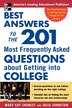 Best Answers to the 201 Most Frequently Asked Questions about Getting into College by Mary Kay Kay Shanley