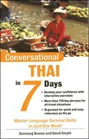 Book Conversational Thai in 7 Days Package (Book + 2 CDs) by Somsong Buasai