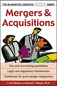 Book Mergers & Acquisitions by J. Fred Weston