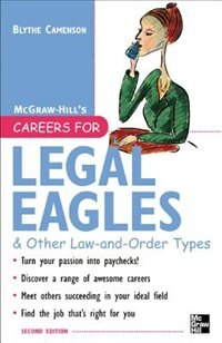 Book Careers for Legal Eagles & Other Law-and-Order Types, Second edition by Blythe Camenson