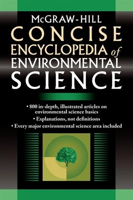 Book McGraw-Hill Concise Encyclopedia of Environmental Science by McGraw-Hill