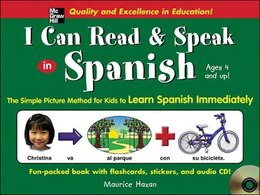 Book I Can Read and Speak in Spanish (Book + Audio CD) by Maurice Hazan