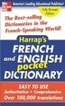 Harrap's French And English Pocket Dictionary by Harrap