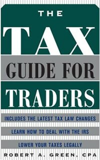 Book The Tax Guide for Traders by Robert Green