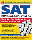 Book SAT Vocabulary Express: Word Puzzles Designed to Decode the New SAT by Jacqueline Byrne