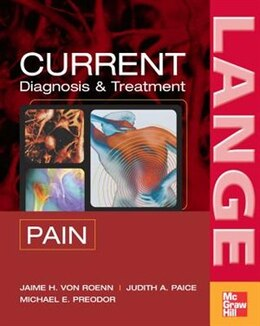 Book CURRENT Diagnosis & Treatment of Pain by Jamie Von Roenn