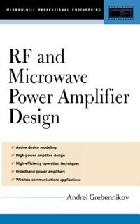 Book RF and Microwave Power Amplifier Design by Andrei Grebennikov